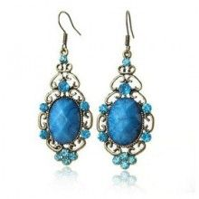 Wholesale Antique Bronze-plated Tibetan Style Earring
