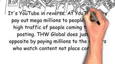 !!! Zarabiaj 1000 $ miesięcznie !!! Taką możliwość daje nam firma THWGlobal. Oglądanie materiałów rozpocznie się od 0.09.2016 r. - pilotażowych programów telewizyjnych, - zwiastunów filmowych, - ankiet wideo - przeglądanych filmów i wiele innych. Za godzinę oglądania zarabiamy do 25$, gdzie maksymalnie możemy oglądać 10h tygodniowo, dzięki temu maksymalnie zarabiamy 250$ tygodniowo, co daje 1000$ miesięcznie. Zaproś przyjaciół i znajomych. http://mlawiak.thwglobal.com/