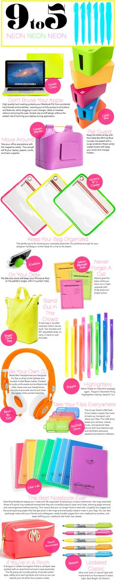9 to 5: NEON #ColorMeExcited — Project Gadabout