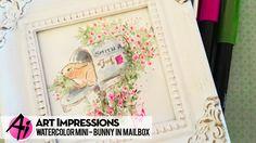 Watch Bonnie place an adorable bunny inside our Flowering Mailbox! +++++ SUPPLIES +++++ • 4607 - Flowering Mailbox —— https://goo.gl/Au321e • WC Series 7 Set...