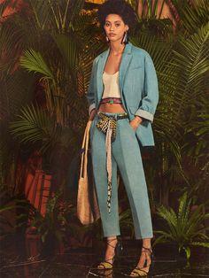 Paris to Marrakesh (Zara) Date Outfits, Summer Outfits, Jean Large, Zara Australia, Pantalon Long, Denim Blazer, Romper Suit, Young Fashion, Mode Inspiration
