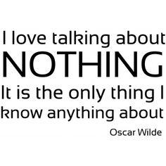 Oscar Wilde Quote Wall Sticker