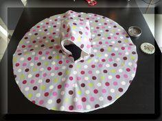 cape de pluie pour bébé avec proportions et explication #DIY