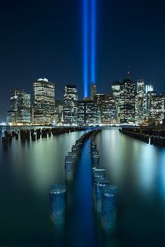 ~~Tribute In Light ~ September 11 Memorial, New York City, NY by Evelina Kremsdorf~~