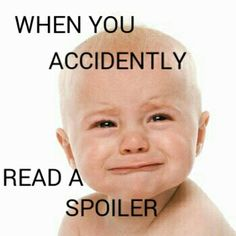 Yes! All the time! :) Alright so somebody spoiled the end of the hero's of Olympus series and it wasn't like this at all, like I WANTED TO HIT SOMETHING NOT CRY!