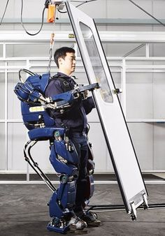Hyundai Wearable Robot is essential a IRL Iron Man suit