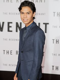 Meet the 17-year-old Native American Who Plays Leonardo DiCaprio's Son in The Revenant – His First Movie Ever http://www.people.com/article/the-recvenant-leonardo-diacpario-son-interview