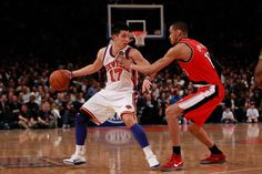 New York Knicks on Yahoo! Sports - News, Scores, Standings, Rumors, Fantasy Games Jeremy Lin, Lucky Number, New York Knicks, Sports News, Nba, Basketball Court