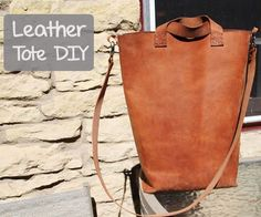 In this Instructable you will learn how to transform a piece of leather into a modern, simple tote bag. It can be used to carry books, as a purse or for groceries...