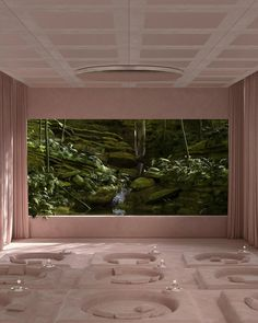 "Paul Milinski • 3D Artist on Instagram: ""Green Class Cinemas 💚🌱🍸🍸"" Cinema Room, Space Place, Home Cinemas, Minimal Design, 3d Design, Graphic Design, My Dream Home, Indoor Plants, Architecture Design"