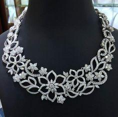 Bridal diamond necklace designs - Latest Jewellery Design for Women Diamond Pendant, Diamond Jewelry, Diamond Necklaces, Cross Necklaces, Diamond Earrings, Jewelry Necklaces, Latest Jewellery, Men's Jewellery, Designer Jewellery