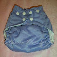 Catholic Newlywed: Baby Babü Cloth Diaper Review