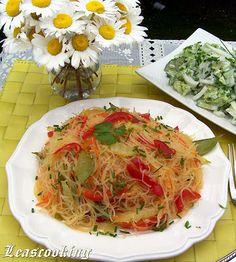 Lea's Cooking: Vegetable Stir Fry Rice Noodles