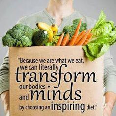 Eating Healthy = Inspiring MIND and BODY