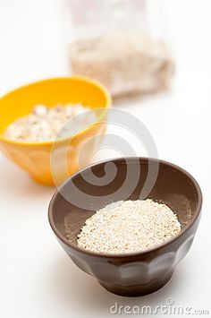 Cereals bowls for a healthy meal