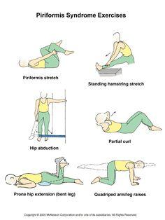 Exercises For Piriformis Syndrome Symptoms | Piriformis Syndrome