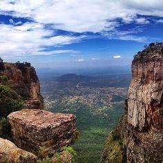 A lovely view at the Tundavala Gap near Lubango, Angola