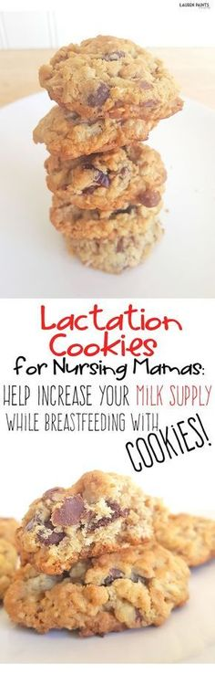 If you are breastfeeding your baby and you want to increase your milk supply, these gluten free cookies are the perfect way to make sure nursing is a breeze for you and your baby!