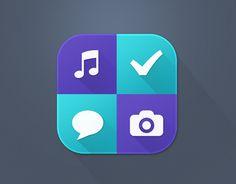 다음 @Behance 프로젝트 확인: \u201cHubbl v3.0 App icon\u201d https://www.behance.net/gallery/10892637/Hubbl-v30-App-icon