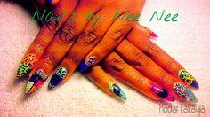 Iconic NailzbyNeeNee  stiletto,zebra & quilt nail designs