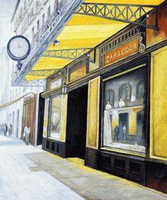 Castano - Gran cafe Zaragoza - overstockArt.com