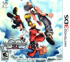 Kingdom Hearts 3D : Dream Drop Distance Nintendo 3DS XL Video Game