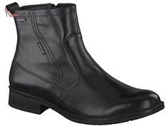 Mephisto, DAMIEN GT palace, Homme, bottine noir lisse UK9.5 - Chaussures mephisto (*Partner-Link)