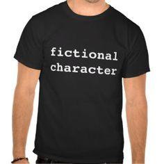 fictional character dark t-shirt