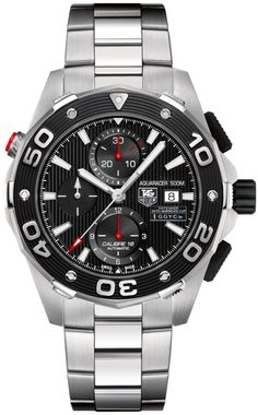 CAJ2112.BA0872 NEW TAG HEUER AQUARACER CALIBRE 16 500M AUTOMATIC  LIMITED EDITION TEAM USA 34th AMERICA�S CUP MENS WATCH  IN STOCK   - FREE Overnight Shipping | Lowest Price Guaranteed    - NO SALES TAX (Outside California)- WITH MANUFACTURER SERIAL NUMBERS- LIMITED EDITION - GGYC DEFENDER - Black Dial - Date and Chronograph Features - Self Winding Automatic Movement- 3 Year Warranty- Guaranteed Authentic- Certificate of Authenticity- Brushed with Polished Steel Case