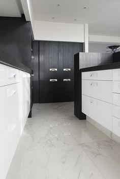 #interieur #tegel #vloertegel #keramische #calacatta #marmer #keuken #appartement