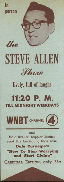 """The Steve Allen Show"" 1956 - at 8 years old I was a tad young to fully appreciate his genius Tonight Show, Today Show, Newest Tv Shows, Favorite Tv Shows, Morey Amsterdam, Allen Show, Steve Allen, Real Tv, When I Was Born"
