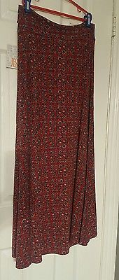 LuLaRoe Maxi Skirt size xs multi color floral