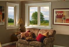 White Vinyl Casement Windows ~ let us show you the most energy efficient window available