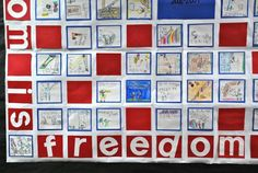 Freedom Is... - Veterans Day Writing Prompt and Wall Mural...bottom of page, several links to ideas