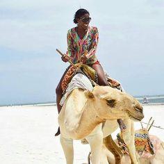Camel riding on diani beach @minjibacookey captured this beautifully!  ... http://upanidiani.com/