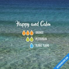 Happy and Calm - Essential Oil Diffuser Blend