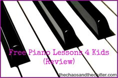 Free Piano Lessons 4 Kids *SO COOL!!!* I actually spent the money for the activity pages because it looks great! The lessons are free but the activity pages will really expand on what he is teaching*