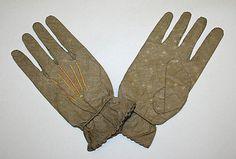 1850s Cotton Gloves