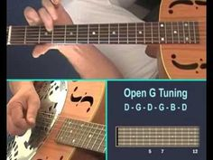 How to Play Slide Guitar - the various techniques. Guitar lesson from gu...