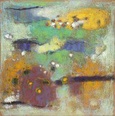 "17-14 | pastel on paper | 14 x 14"" | 2014"