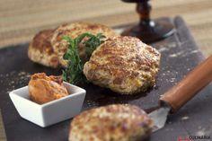 Teleculinaria - Hambúrguer de frango com farinheira