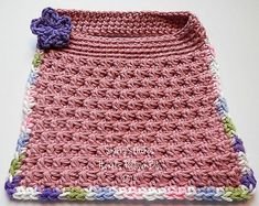Ravelry: Hazel's Pullover Bib & Face Cloth pattern by Sherry L. Farley