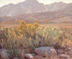 Painting by landscape artist Jean LeGassick.