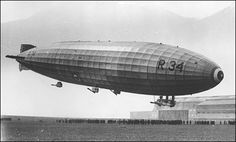 R34 airship