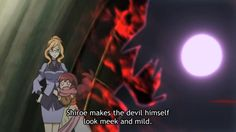 Shiroe gives off that dark aura...