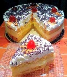 Σπέσιαλ τούρτα !!!! ~ ΜΑΓΕΙΡΙΚΗ ΚΑΙ ΣΥΝΤΑΓΕΣ 2 Pastry Cook, Greek Desserts, Greek Salad, Confectionery, Muffins, Cheesecake, Deserts, Cooking Recipes, Sweets