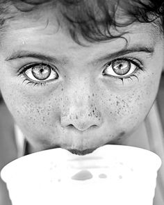 boy with pretty eyes | black  and white photography