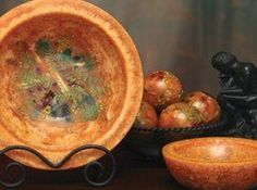 Scented candle bowls, like those made by Habersham candles, are an alternative to scented candles. These scented wax bowls (also called wax pottery vessels) are are similar to candles, except there is no wick to light. Just set the bowl on display...
