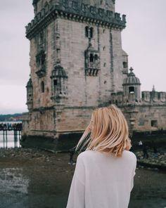 Einzigartiger Fotospot in Lissabon – Torre de Belém #belem #lisbon
