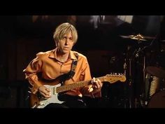 One of the most intriguing, thoughtful and distinctive of today's modern guitar masters gives you an in-depth guide to his approach, style and perspective in. Tommy Taylor, Eric Johnson, Camera Angle, Guitar Parts, Guitar Lessons, Playing Guitar, Youtube, Angles, Youtubers